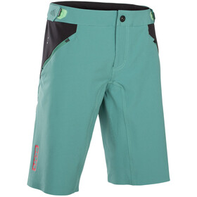 ION Traze AMP Shorts ciclismo Hombre, sea green